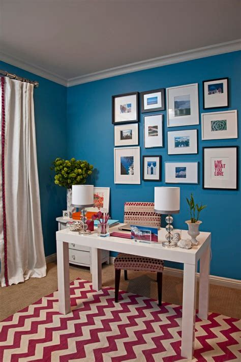 office room color 23 colorful home office design ideas digsdigs