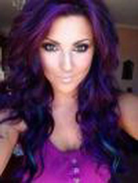 Purple And Black Hairstyles by Black And Purple Hairstyles
