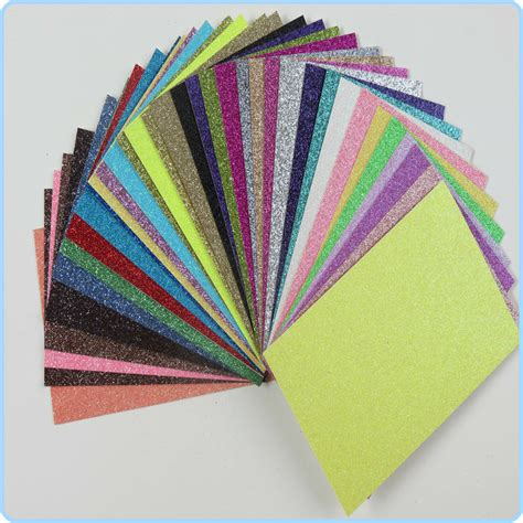 Wholesale Craft Paper - selling shiny diy glitter paper sheet wholesale paper