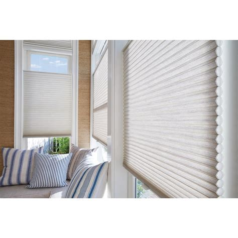 hunter douglas fans home depot hunter douglas duette honeycomb shades