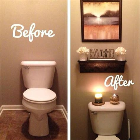 Toilet Decor by 11 Easy Ways To Make Your Rental Bathroom Look Stylish