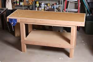 bench shops a basic woodworking bench that s to make