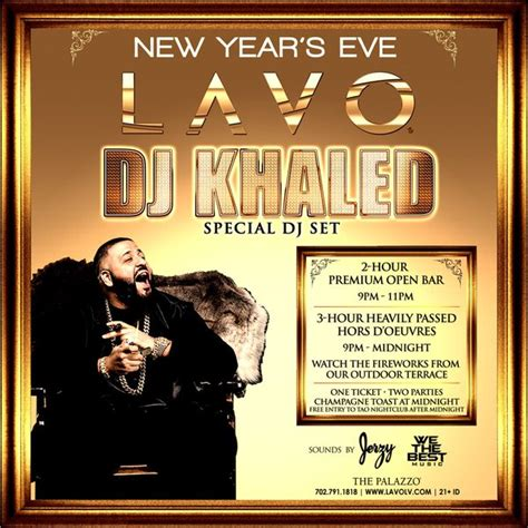new year thursday dj khaled lavo new year s at lavo casino club on