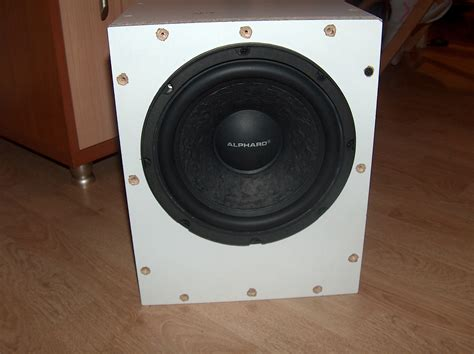home made cheap passive subwoofer