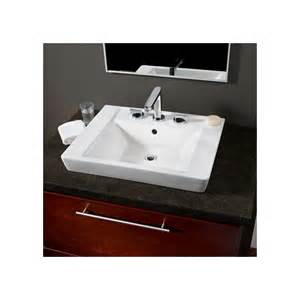 Boulevard Pedestal Sink Faucet Com 0641 001 020 In White By American Standard
