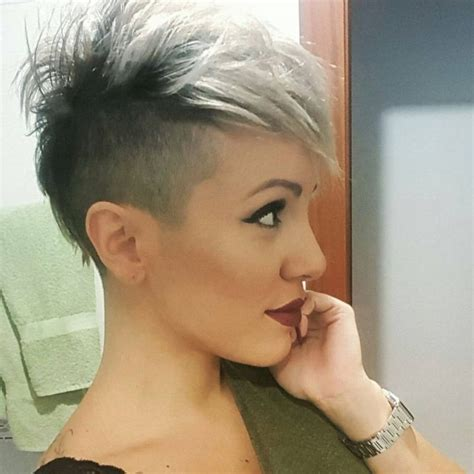 how to trim sides and back of hair 17 best ideas about short hair mohawk on pinterest faux