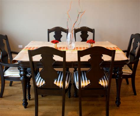 Fabric For Recovering Dining Room Chairs by How To Reupholster Dining Chairs In Oilcloth Design