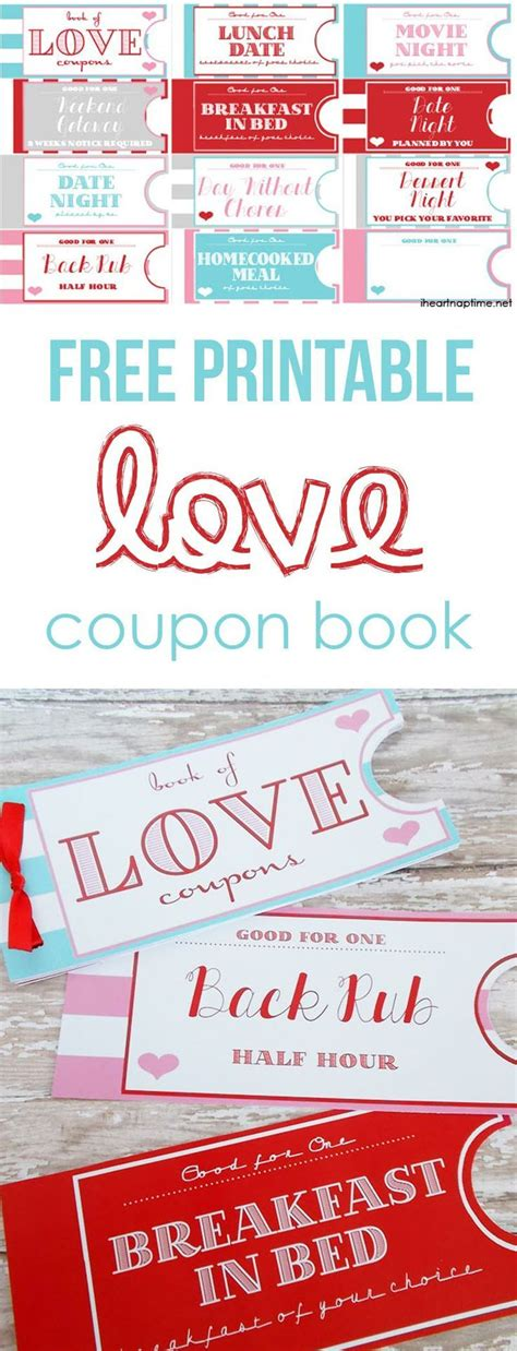 printable love coupon book cover romantic valentine coupon book ideas for guys book covers