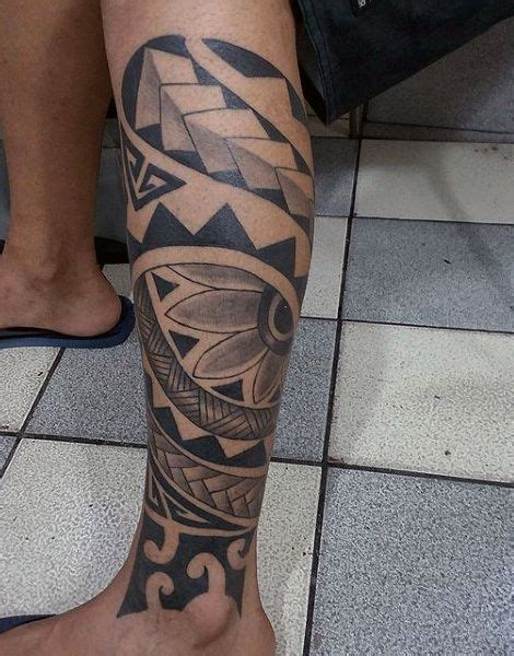 lower half sleeve tattoos lower leg maori half sleeve tattoos on gentleman lower