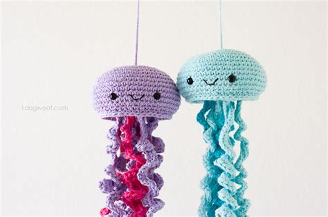 crochet pattern jellyfish crochet jellyfish one dog woof