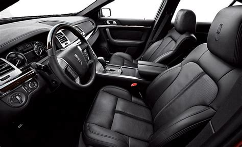 Lincoln Mks Interior by Car And Driver