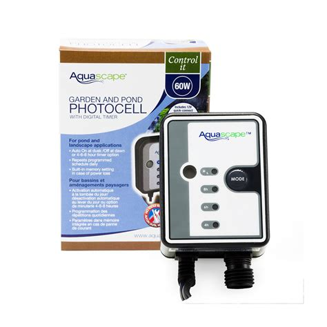 lights with timer garden and pond photocell with digital timer aquascape inc