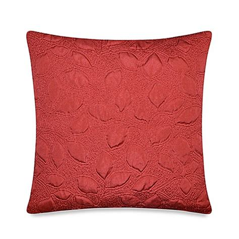 red throw pillows for bed tuscany throw pillow in red bed bath beyond