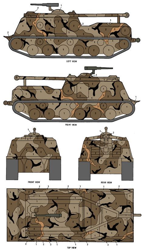 m88 arv merdc gray desert camouflage color profile and paint guide