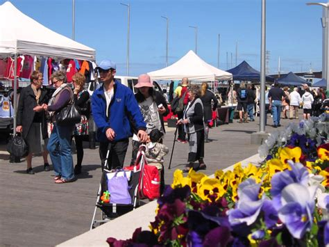 stall australia docklands sunday market australia day event melbourne
