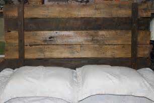 Rustic Wood Headboard Rustic Headboard By Reclaimvintagecharm On Etsy