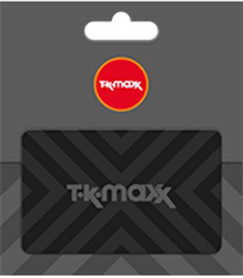 Tk Max Gift Card - tk maxx gift card choose product