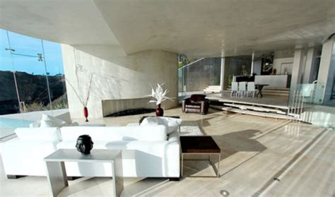 tony stark living room tony stark s house from iron is up for sale iron white sofas and house