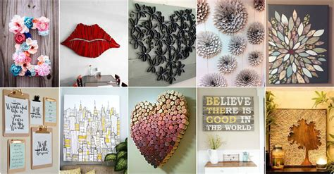 More Amazing Diy Wall Art Ideas Diy Cozy Home Wall Decor Diy