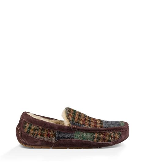 Ugg Patchwork - ugg ascot patchwork factory outlet s moccasins 1013522