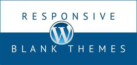 wordpress theme editor blank 25 free responsive blank wordpress themes designmaz