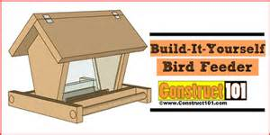Building Plans For Wooden Picnic Table by Diy Guides And Plans For Bird Feeder Projects