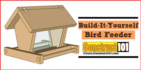 diy guides  plans  bird feeder projects