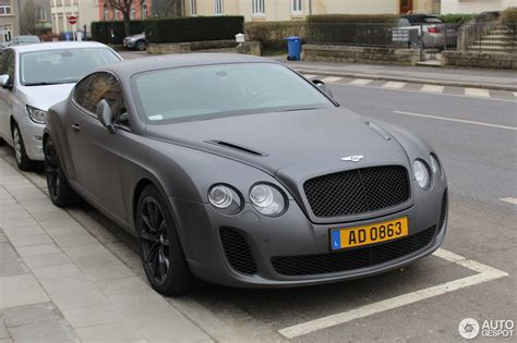 bentley sports coupe bentley continental supersports coup 233 13 maart 2016