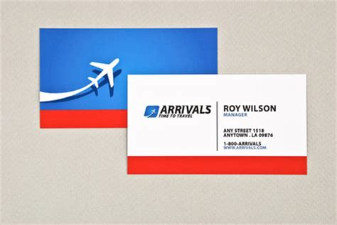Sophisticated Travel Agency Business Card Template   Inkd