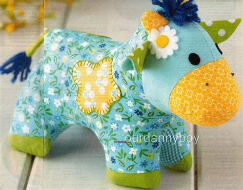 Patchwork Toys Free Patterns - easy make childrens doll sewing pattern patchwork