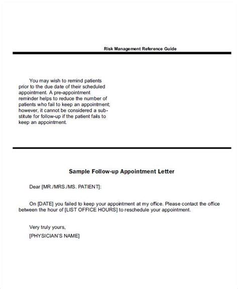 Patient Appointment Letter Template doctor appointment letter botbuzz co