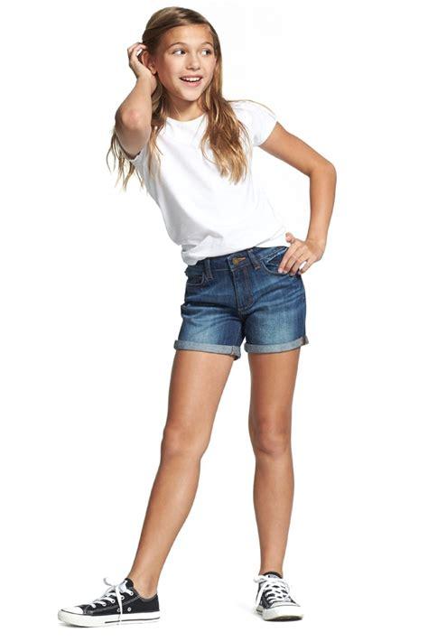 little girl up shorts dl1961 piper stretch denim shorts toddler girls