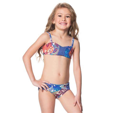 child girl swimwear bikinis maaji kids 2016 floral landscape bikini 1611ksx