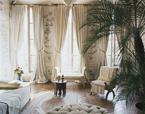 1920s curtains 1920s inspired interior palms heavy curtains interiors