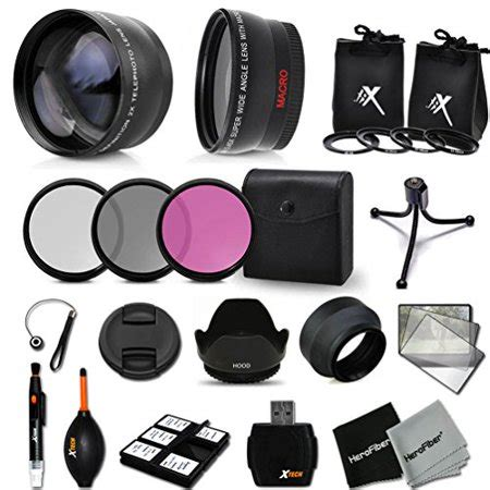 essential 58mm accessory kit for canon eos rebel t5i t4i