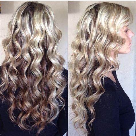 mermaid perm love the color length hair pinterest perms hair