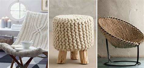 gorgeous furniture make it cosy at home with these gorgeous knitted furniture