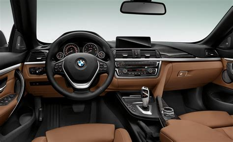 luxury bmw interior car and driver