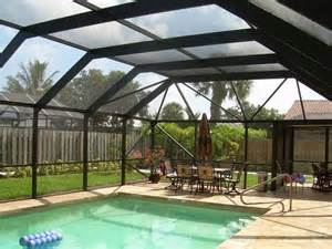 Sunrooms Houzz Mansard Roof Style Screen Pool Enclosure Tropical Pool