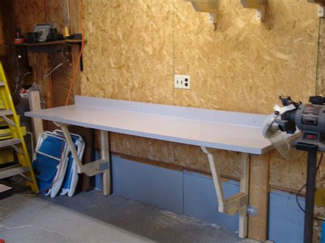 fold down bench make a cheap fold down workbench