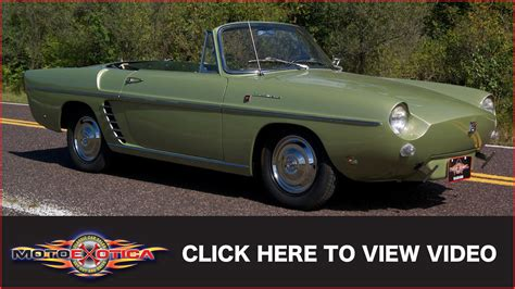 renault caravelle for sale 1960 renault caravelle sold youtube