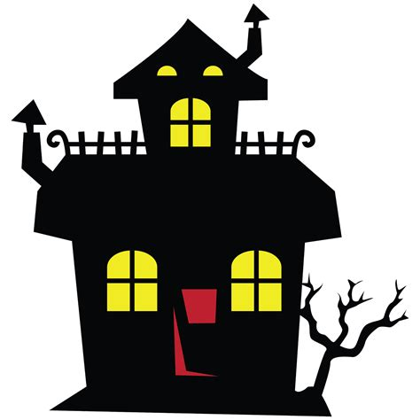 Haunted House Clipart by Precious Worlds Ready For