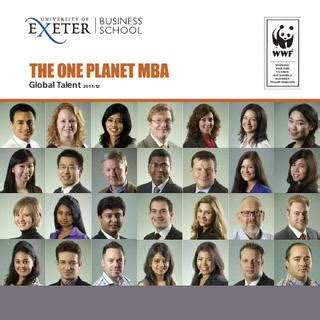One Planet Mba by One Planet Mba Profile Book By Of Exeter Issuu