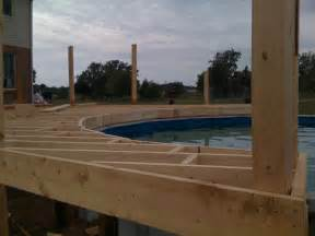pool deck bauen pool deck 1200 square construction picture post