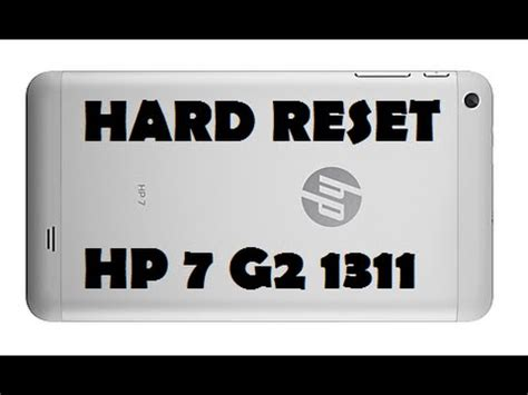 hard reset hp deskjet d2460 hard reset hp 7 g2 1311 format formatar make as factory
