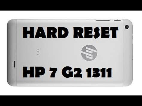 hard reset hp deskjet d2660 hard reset hp 7 g2 1311 format formatar make as factory