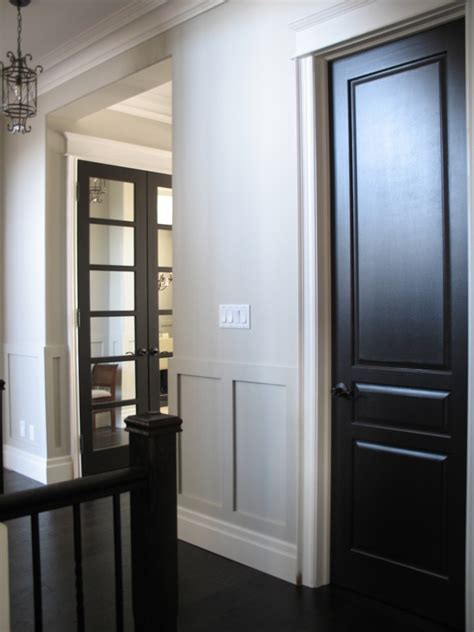 Best Black Paint Color For Interior Doors Black Interior Doors House Decorators Collection