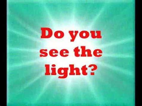 i see the light lyrics do you see the light first skynet sync lyrics 174 youtube