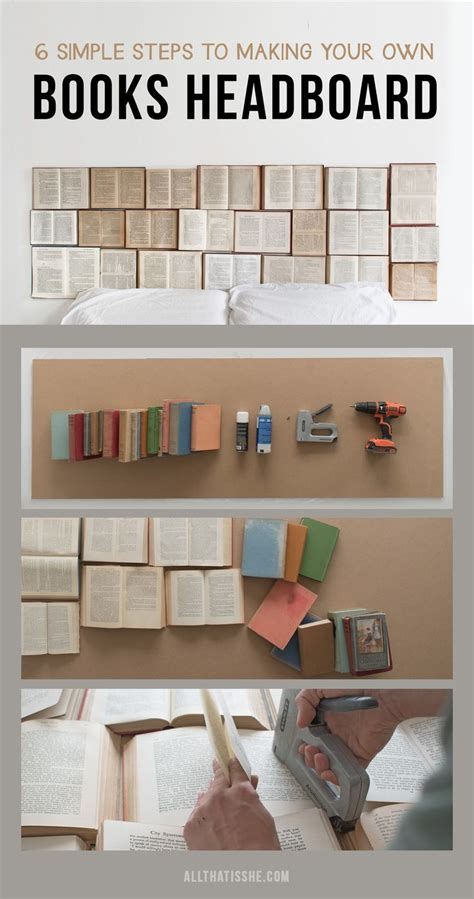 diy book headboard the 25 best make your own headboard ideas on