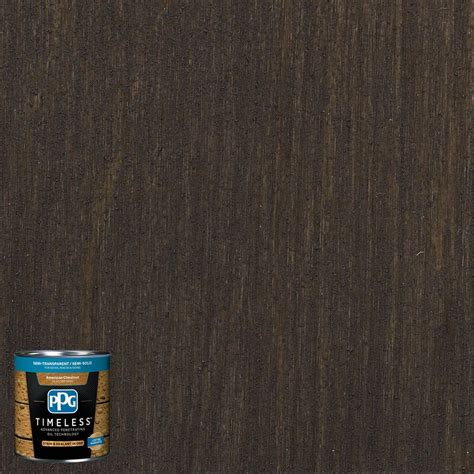 ppg timeless 8 oz tst 14 oxford brown semi transparent semi solid exterior stain low voc tst